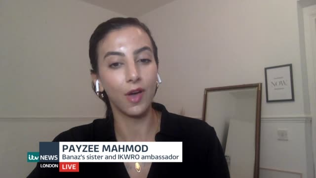 caroline goode and payzee mahmod interview; england: london: gir / location unknown / west sussex: int payzee mahmod and caroline goode live 3-way... - crime and murder stock videos & royalty-free footage