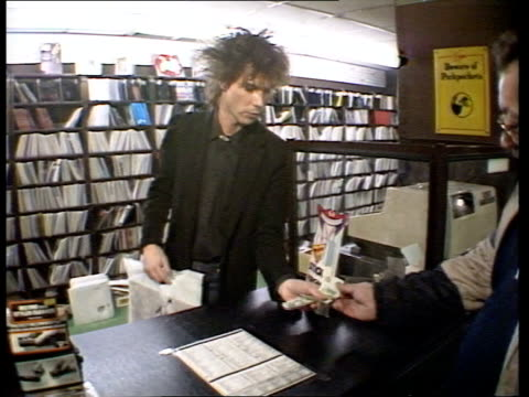 vidéos et rushes de 'do they know it's christmas' record has already raised one million pounds england london virgin record store int **music heard sot** ms male... - store