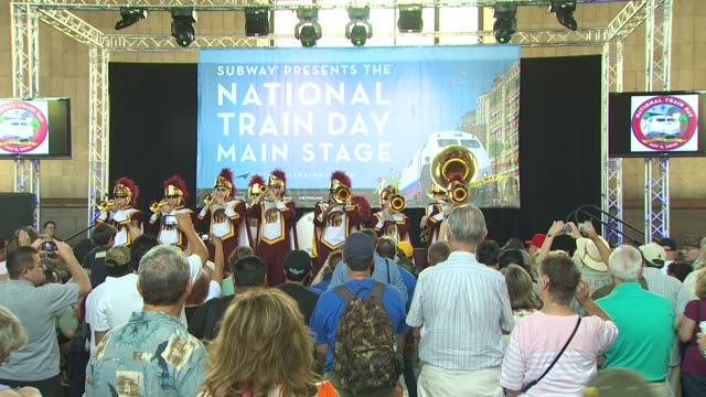Band at the Amtrak Celebrates National Train Day 2010 Los Angeles at Los Angeles CA