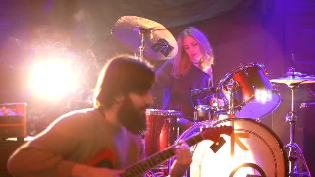 Band live performance