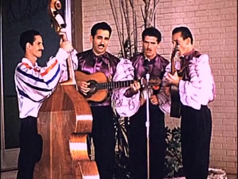 1955 band performing, cuba - maraca stock videos & royalty-free footage