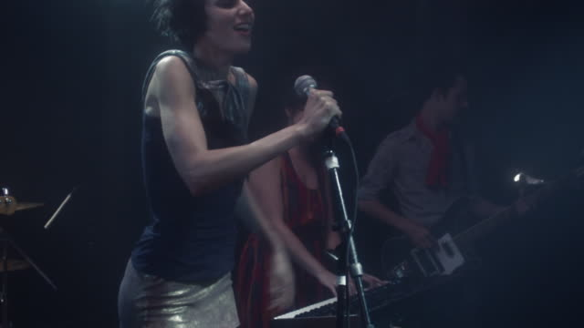 SLO MO band performing on stage / New York, New York