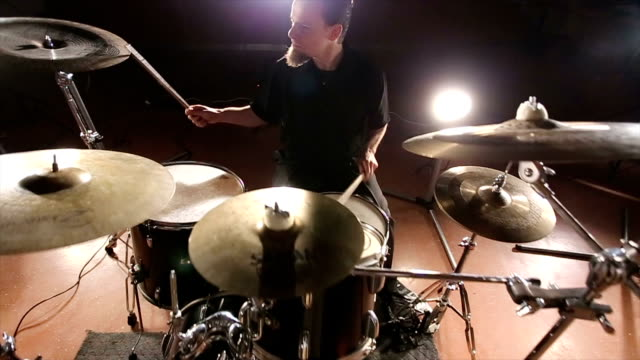 band rehearsing in the studio - rock group stock videos & royalty-free footage