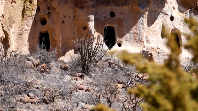 bandelier national monument, nm - puebloan peoples stock videos & royalty-free footage