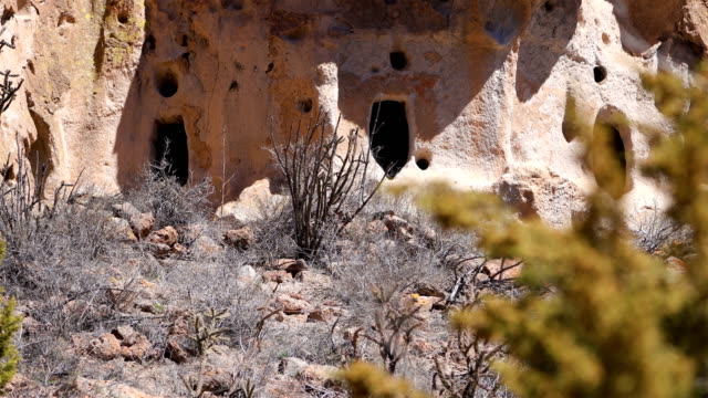 bandelier national monument, nm - prehistoric era stock videos & royalty-free footage
