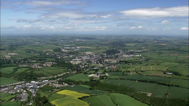 Bandon-Luftaufnahme – Munster, Kork, Hubschrauber beim Filmen, Antenne Video cineflex, Eröffnungsszene, Irland