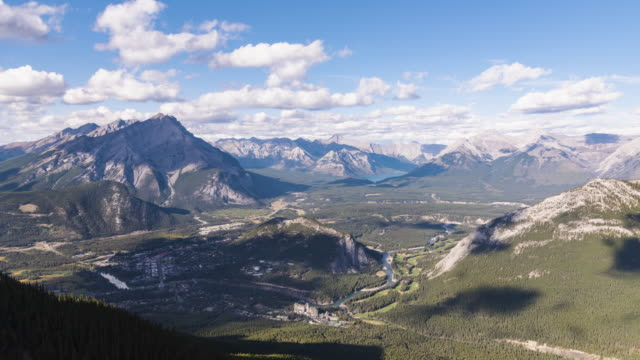 banff - banff national park stock videos & royalty-free footage