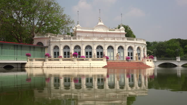 Bang Pa-In Royal Palace in Ayutthaya, Thailand