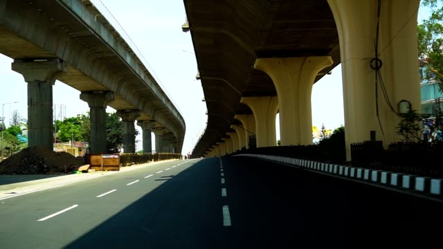 bangalore road - built structure stock videos & royalty-free footage