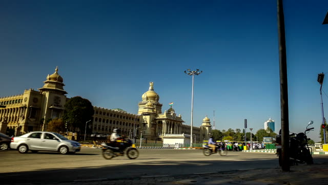 bangalore time lapse - bangalore stock videos and b-roll footage
