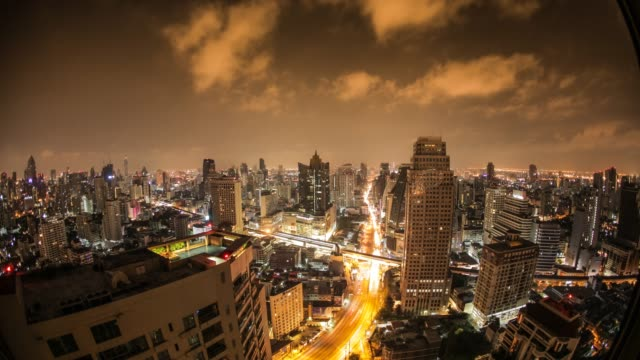 bangkok 24hr timelapse - 24 hrs stock videos and b-roll footage
