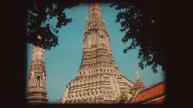 Tempio buddista di Bangkok, Vintage Super 8