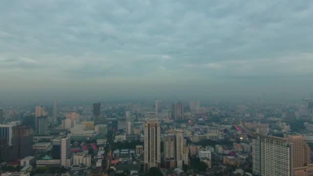 Bangkok city early morning