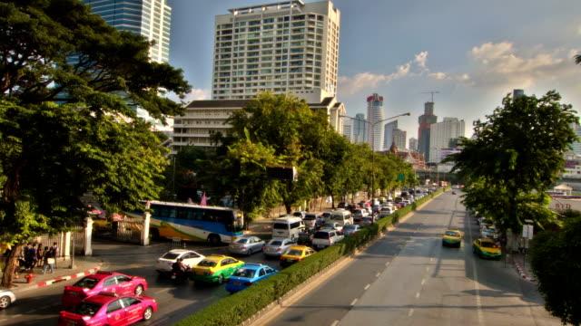 bangkok stadt.   , thailand - fensterfront stock-videos und b-roll-filmmaterial