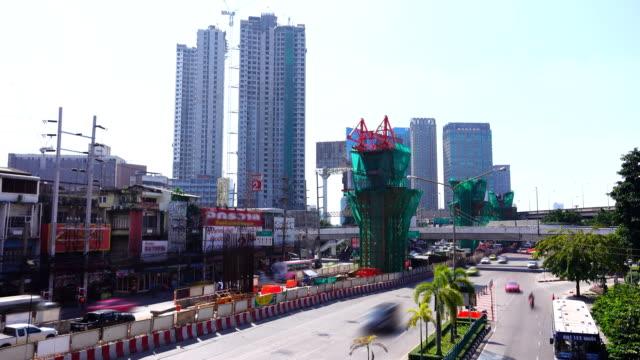 Bangkok City Traffic Jam