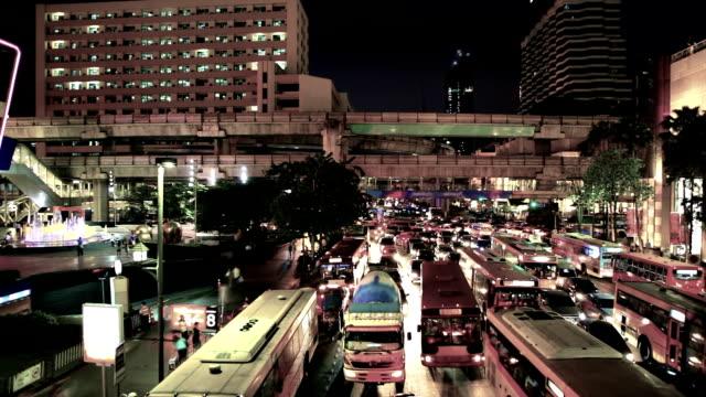 vidéos et rushes de ville de bangkok - vertige