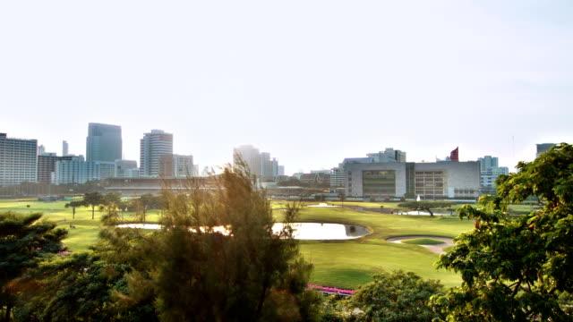 Vert ville de Bangkok