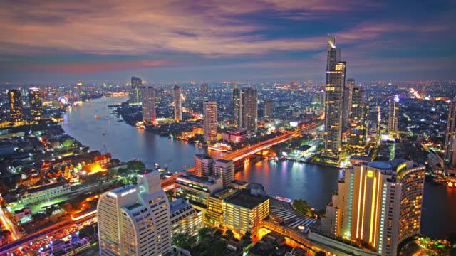 Bangkok. Hour after sunset