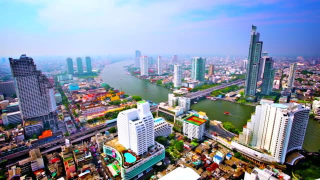 Bangkok nella luce del mattino