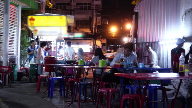 Bangkok road side meal