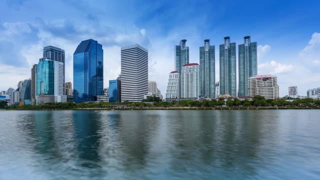 Bangkok Skyline; TIME LAPSE