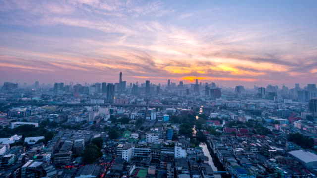 bangkok skyline - bangkok stock videos & royalty-free footage