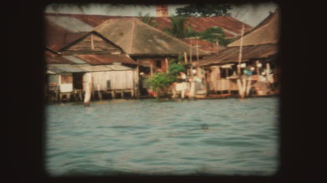 bangkok, thailand-vintage super 8 - bangkok stock-videos und b-roll-filmmaterial