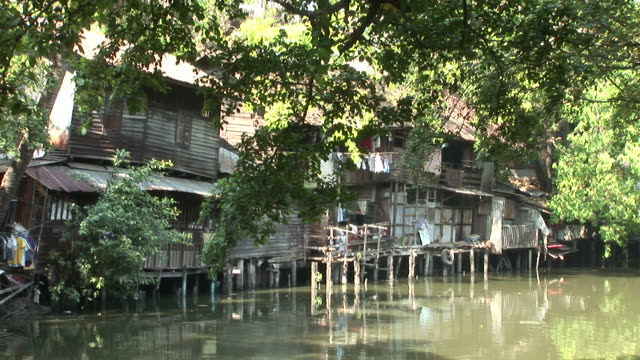 Bangkok, ThailandView of an old house in Bangkok Thailand