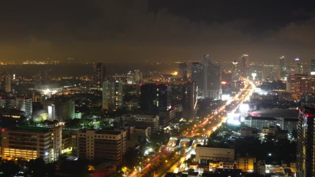 Bangkok bovenaanzicht time-lapse
