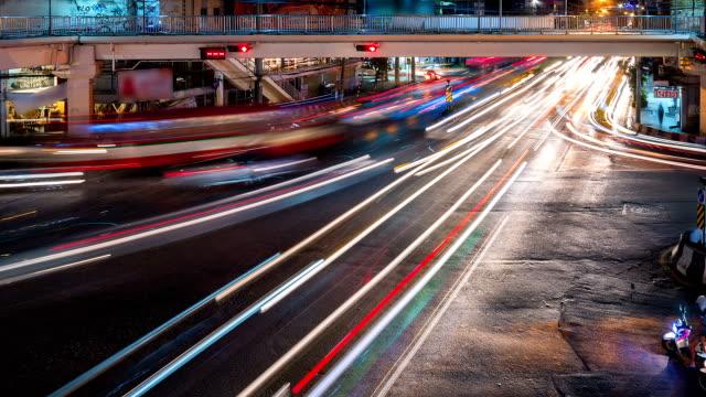 Bangkok Traffic Time Lapse