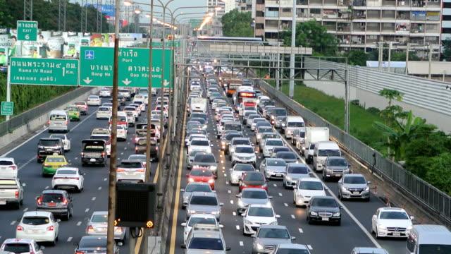 バンコクの交通 - 交通輸送点の映像素材/bロール