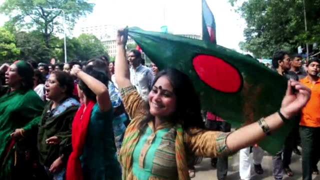 a bangladesh court on tuesday sentenced top opposition lawmaker salauddin quader chowdhury to death for genocide the first lawmaker to be convicted... - genocide stock videos & royalty-free footage