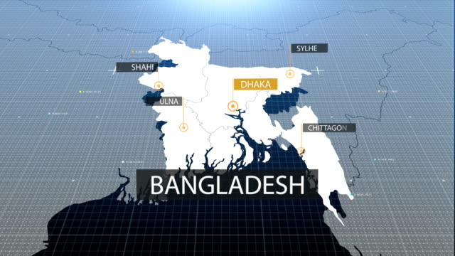 bangladesh map with label then with out label