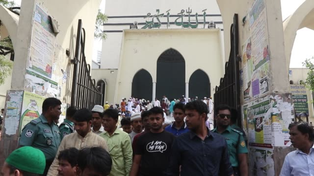 Bangladeshi Muslims protest after two mosques have been attacked in New Zealand following Friday prayers in Dhaka on March 15 2019 Attacks on two...