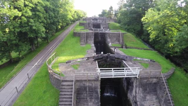 Bangles Five Rise Locks Aerial