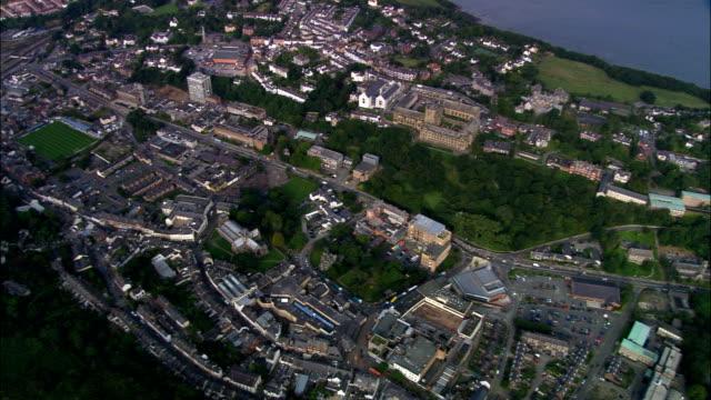Bangor  - Aerial View - Wales, Caernarfonshire and Merionethshire, United Kingdom