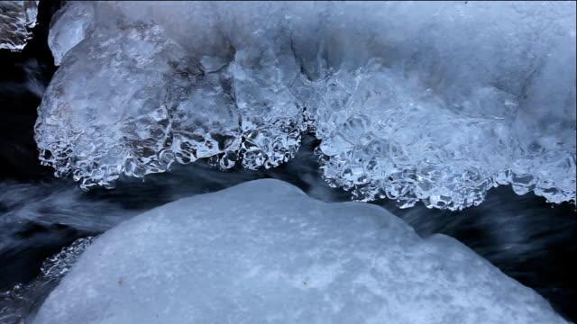 Bangtaesan Mountain waterfall in winter