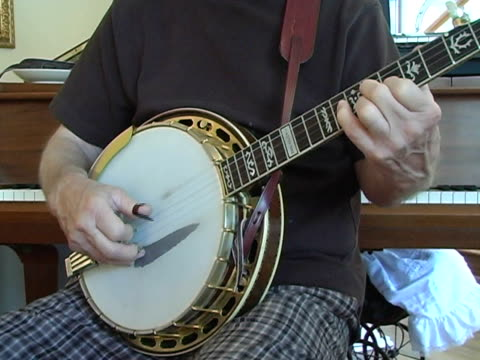 banjo man practice - fretboard stock videos and b-roll footage