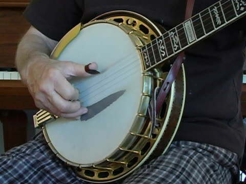 banjo practice - fretboard stock videos and b-roll footage