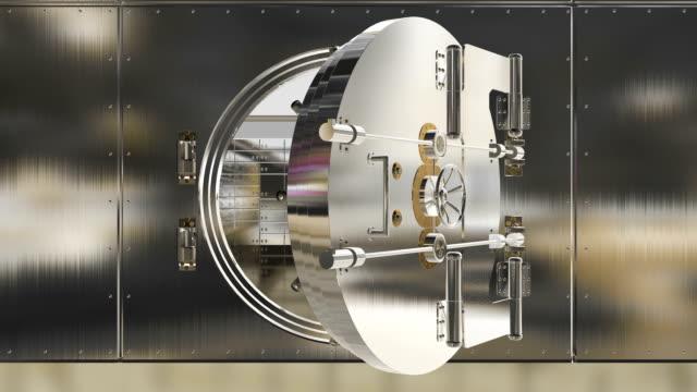 bank door opening - safe bildbanksvideor och videomaterial från bakom kulisserna