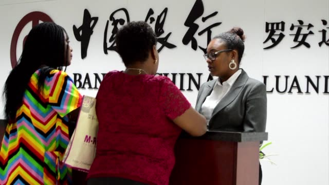 Bank of China opens its first ever branch in Luanda Angola
