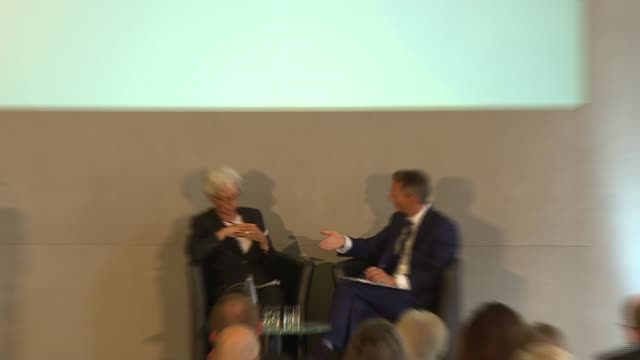 Bank of England '20 Years On' conference Christine Lagarde speech Christine Lagarde QA session SOT