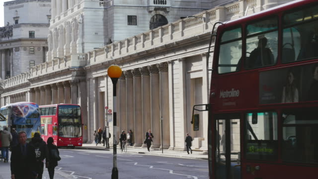 Bank Of England In London Threadneedle Street (UHD)