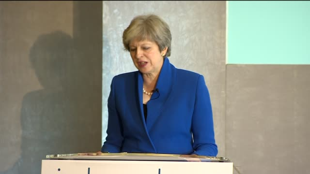 Theresa May speech Theresa May MP speech SOT re working for the Bank of England / reform of the Bank / operational independence / interest rates /...