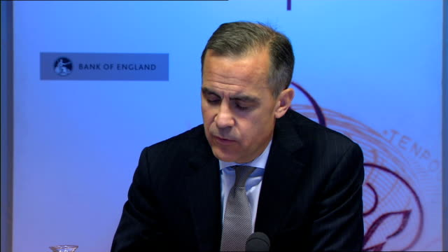Bank of England Quarterly Inflation Report Press conference Carney and others answering questions from the press SOT
