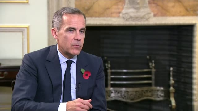 Bank of England raises interest rates for first time in a decade Reporter along and greeting Mark Carney Mark Carney interview SOT more people are in...