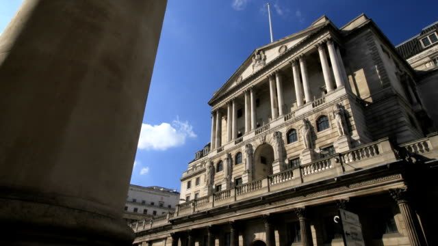 bank of england - economy stock videos & royalty-free footage