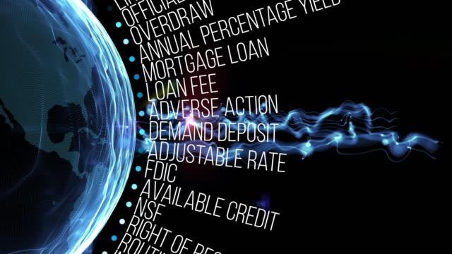 bank- und finanzieller hinsicht - scheck stock-videos und b-roll-filmmaterial