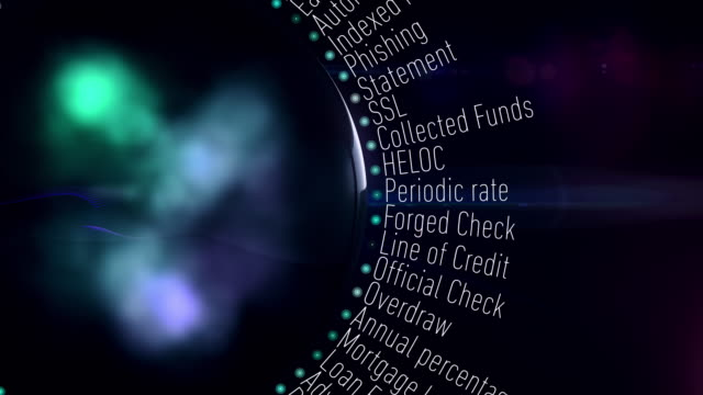 banking and financial terms - bank statement stock videos & royalty-free footage