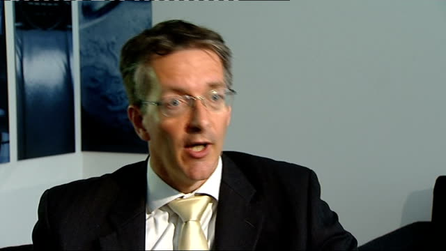 bank of england executive director suggests free banking should be scrapped eric leenders interview sot - executive director stock videos & royalty-free footage
